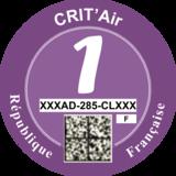 Crit'air Class 1